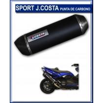 JC60710ESTSPORTC  JCosta Sport Carbon Exhaust for Yamaha Xmax 125cc